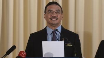 Malaysia's Defense Minister Hishammuddin Hussein