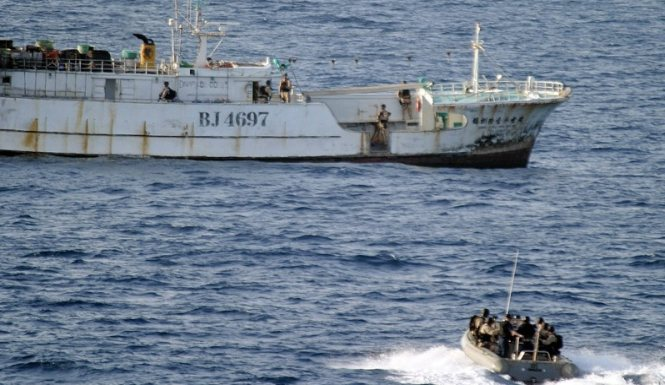 Somali Pirate Attack Thwarted When Warships Respond