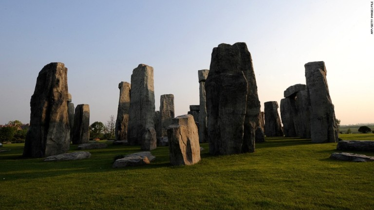 Stonehenge replica at Hefei, China (STR/AFP/GettyImages)