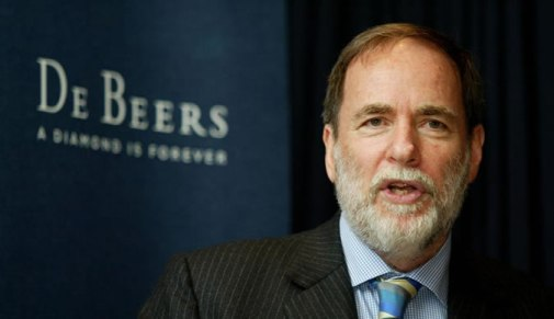 former chairman of Anglo-American and De Beers Nicky Oppenheimer.