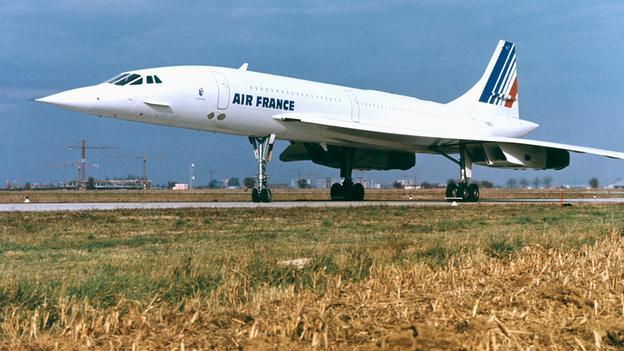 The Anglo-French Concorde was the height of aviation sophistication, flying between London and New York in just two hours. (AFP/Getty Images)