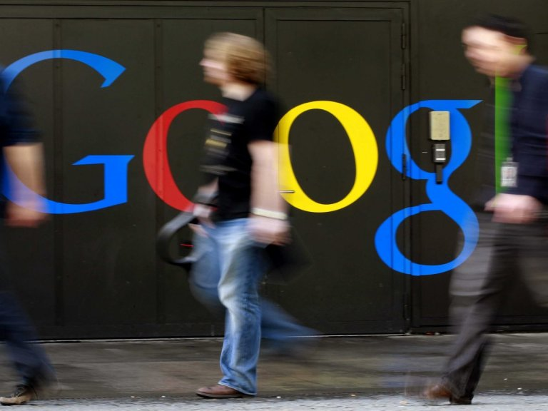 google-sign-people-walking-4