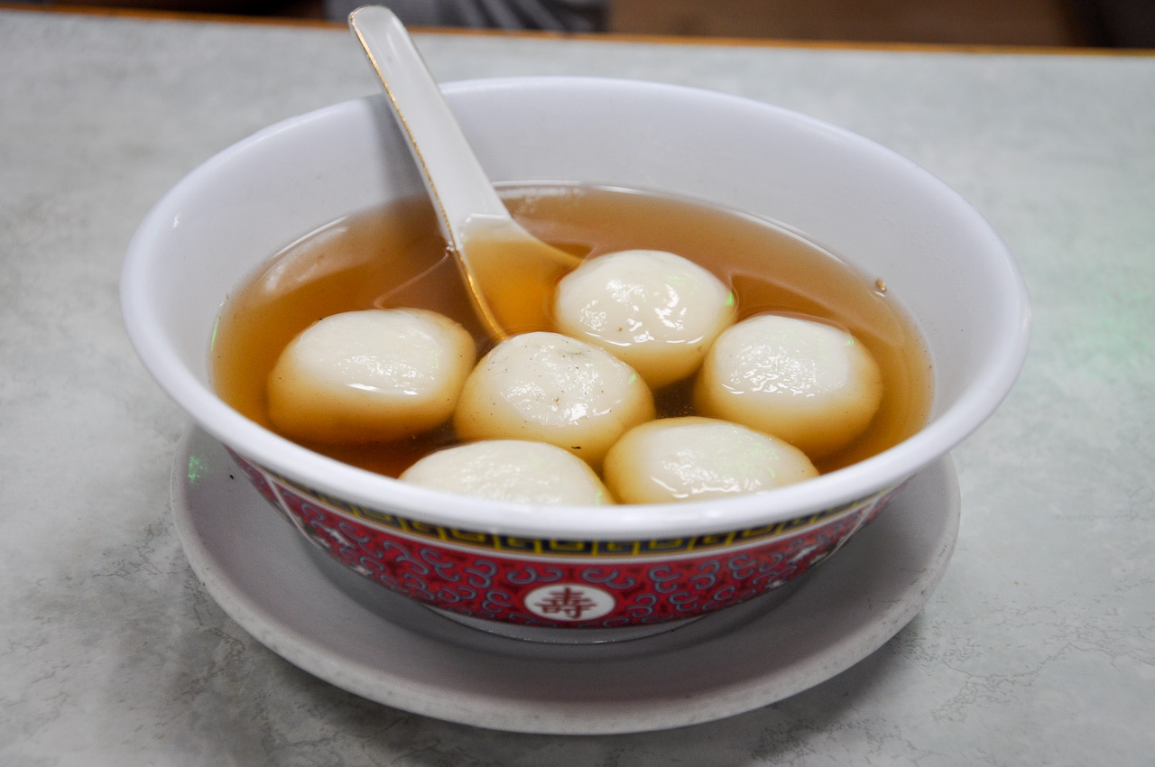 tangyuan is the main food for chinas lantern festival however in south china people eat them throughout the spring festival the pronunciation and round - Traditional Chinese New Year Food