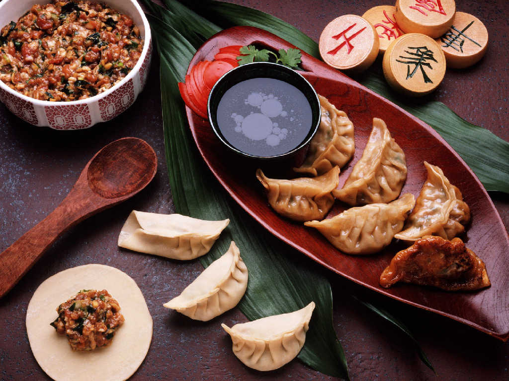 These are the chinese new year traditional dishes that for Asian food cuisine