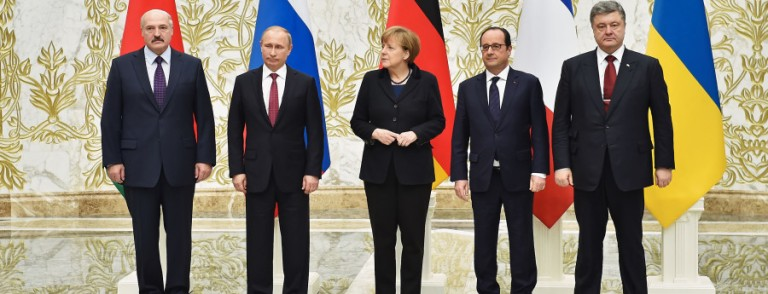 World Leaders Meet In Belarus To Discuss Cease-Fire in Ukraine